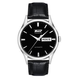 Tissot Tissot Heritage Visodate Automatic Mens Black Strap Watch T0194301605101