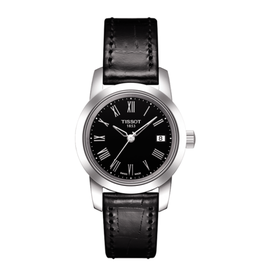 Tissot Tissot Classic Dream Ladies Black Leather Strap Watch