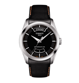 Tissot Tissot Couturier Powermatic 80 Men's Black Dial Watch
