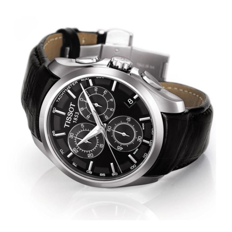 nouveau concept 40af8 9a454 Tissot Tissot Couturier Quartz Men's Chronograph Watch