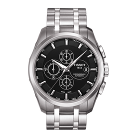 Tissot Tissot Couturier Mens Automatic Chronograph Watch T0356271105100