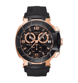 Tissot Tissot T-Race Mens Rose and Black Watch T0484172705706