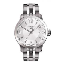 Tissot Tissot PRC 200 Quartz Mens Silver Dial Watch T0554101101700