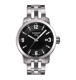 Tissot Tissot PRC 200 Quartz Mens Black Dial Watch T0554101105700