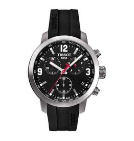 Tissot Tissot PRC 200 Chronograph Mens Black Dial Watch T0554171705700