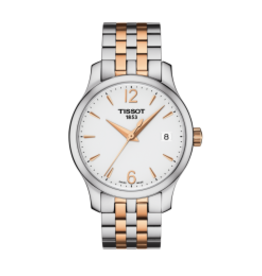 Tissot Tissot Tradition Quartz Steel and Rose PVD Ladies Watch