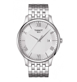 Tissot Tissot Tradition Mens Watch with Silver Dial T0636101103800