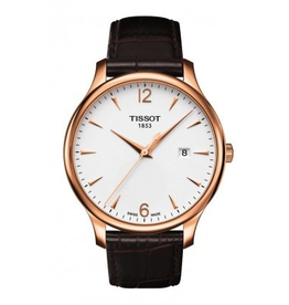 Tissot Tissot Tradition Mens Leather Strap Watch