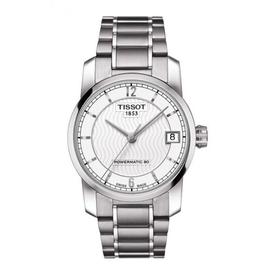 Tissot Tissot Titanium Powermatic 80 Ladies Silver Tone Watch