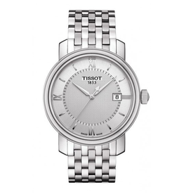 Tissot Tissot Bridgeport Quartz Mens Silver Dial Watch T0974101103800