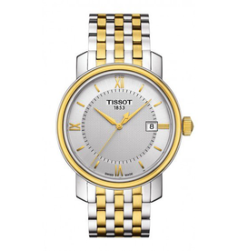 Tissot Tissot Bridgeport Quartz Mens Two Tone Watch T0974102203800