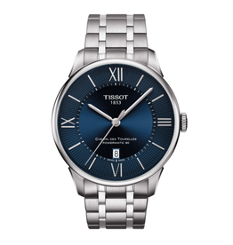 Tissot Chemin Des Tourelles Powermatic 80 Stainless Steel with Blue Dial