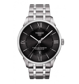 Tissot Tissot Chemin Des Tourelles Mens Black Dial Watch T0994071105800