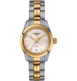 Tissot Tissot PR 100 Classic Ladies Two Tone Watch