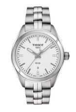 Tissot Tissot PR 100 Ladies Silver Tone Diamond Dial Watch