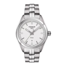 Tissot Tissot PR 100 Diamonds Silver Ladies Watch