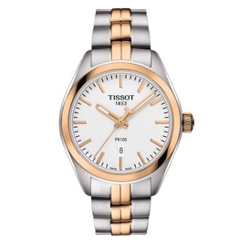 Tissot Tissot PR100 Ladies Watch Two Tone