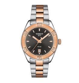 Tissot Tissot PR 100 Sport Chic Tow Tone Ladies Watch