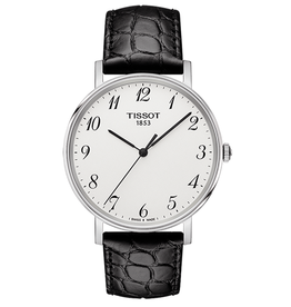 Tissot Tissot Everytime Medium Mens Watch Grey Dial with Black Band T1094101603200