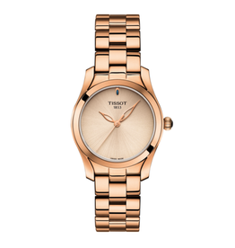Tissot Tissot T-Wave Ladies Rose Tone Watch