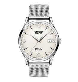 Tissot Tissot Heritage Visodate Men's Silver Tone Mesh Strap Watch