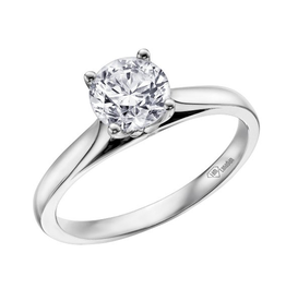 White Gold (0.25ct) Canadian Diamond Solitare Ring