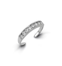 Toe Ring (White Gold)