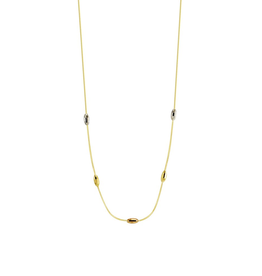 Coco Tri Gold Necklace