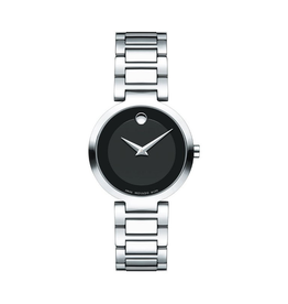 Movado Movado Modern Classic Ladies Black Dial Watch