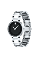 Movado Movado Modern Classic Ladies Black Dial Watch