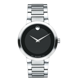 Movado Movado Modern Classic Black Dial Mens Watch