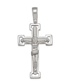 Sterling Silver Fancy Crusifix Pendant
