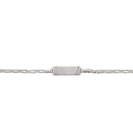 White Gold Baby ID Bracelet