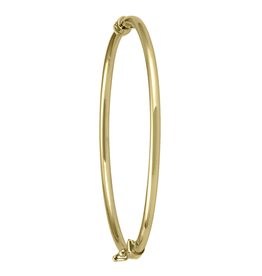 Yellow Gold Baby Bangle