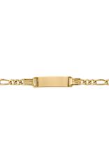 Yellow Gold Baby ID Bracelet