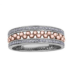 Sphere Diamond Ring