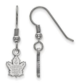 NHL Licensed Toronto Maple Leafs Earrings Sterling Silver
