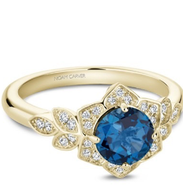 Noam Carver London Blue Topaz & Diamonds