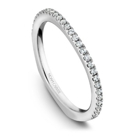 Noam Carver Noam Carver White Gold Diamond Wedding Band
