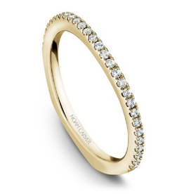 Noam Carver Noam Carver Yellow Gold Diamond Wedding Band