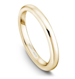 Noam Carver Matching Band Yellow Gold to B018-01Y-A