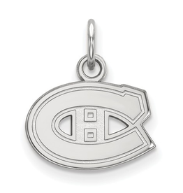 NHL Licensed NHL Licensed (Small) Montreal Canadiens Sterling Silver Pendant