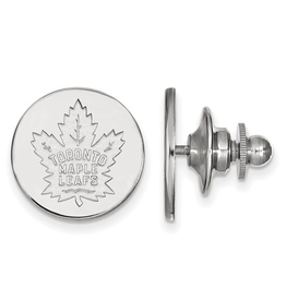 NHL Licensed Toronto Maple Leafs Lapel Pin Sterling Silver