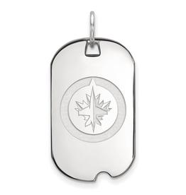 NHL Licensed NHL Licensed Winnipeg Jets Sterling Silver Dog Tag