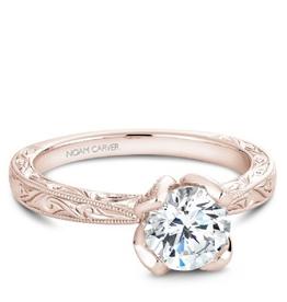 Bridal Mount Rose Gold