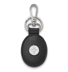 NHL Licensed NHL licensed Winnipeg Jets Black Leather Key Chain