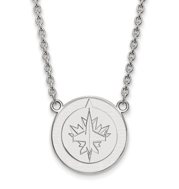 NHL Licensed Winnipeg Jets Necklace