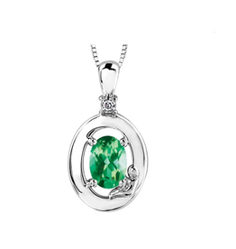 Emerald & Diamonds