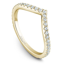 Stackable Diamond Band (0.36ct) 14K Yellow Gold