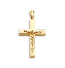 Yellow Gold Crusifix Pendant